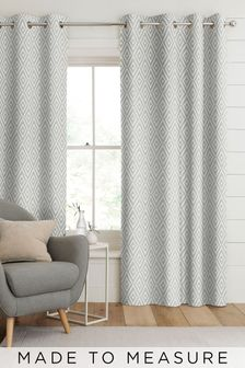 Nina Dove Grey Made To Measure Curtains