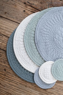 Mary Berry Signature Cotton Green Placemat