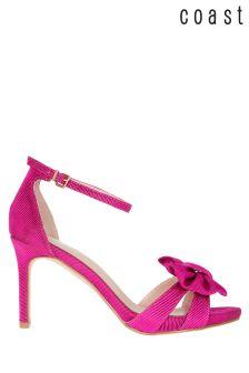 Coast Pink/Tan Sasha Bow Sandal