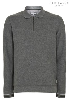 Ted Baker Newcase Half Zip Polo Jumper