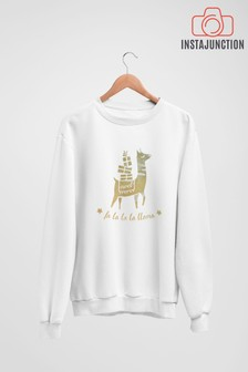 Fa La La La Llama Jumper by Instajunction
