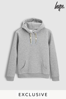 Hype. Grey Taped Hoody
