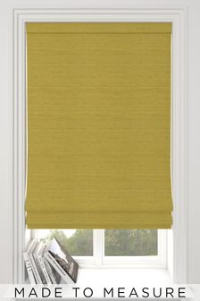 Jasper Lime Green Made To Measure Roman Blind