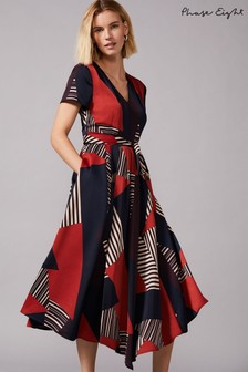 Phase Eight Multi Clarice Graphic Print Dress