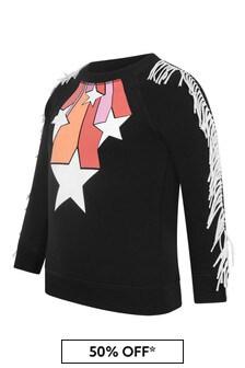 Stella McCartney Kids Girls Black Star Print Sweater
