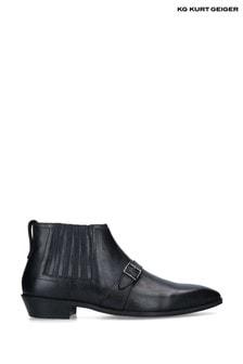 Kurt Geiger Black Jax Boots