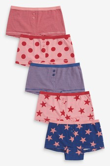 5 Pack Boxers (2-16yrs)