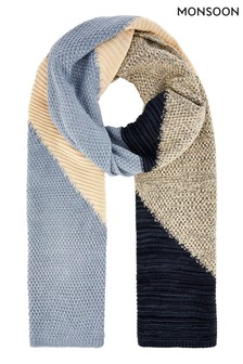 Monsoon Multi Connie Colourblock Scarf