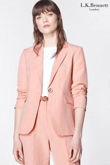 L.K.Bennett Pink Sweetpea Jacket