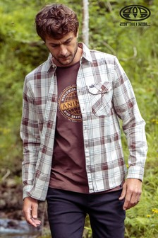 Animal Grey Armstrong Long Sleeve Shirt