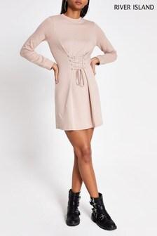 River Island Pink Colette Dress