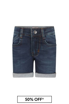 Timberland Baby Blue Cotton Shorts