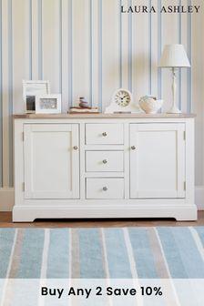 Dorset White 2 Door 3 Drawer Sideboard