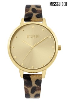 Missguided Sunray Dial Watch