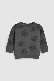 Bear All Over Print Crew (3mths-7yrs)