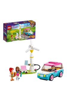LEGO 41443 Friends Olivia's Electric Car Toy Eco Playset