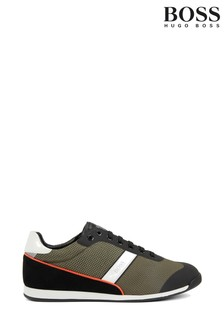 BOSS Green Glaze Lowp Lace-Up Trainers