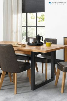 Indus 6 Seater Extending Dining Table by Bentley Designs