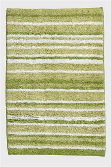 Tufted Stripe Bath Mat