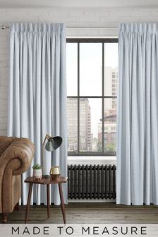 Noah Silver Made To Measure Curtains