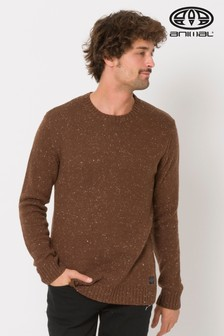 Animal Brown Smedmore Knitted Jumper
