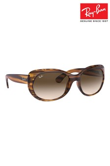 Ray-Ban® Havana Striped Red Sunglasses