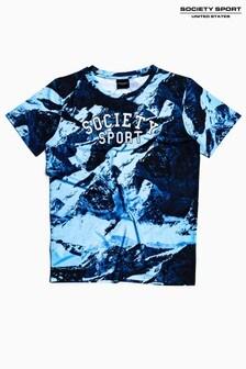 Society Sport Kids Blue Mountain T-Shirt