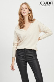 OBJECT V-Neck Supersoft Jumper