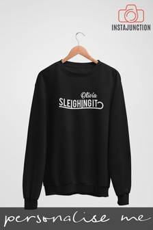 Personalised Sleighing It Jumper by Instajunction