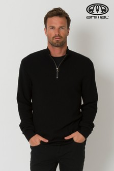 Animal Black Arne Knitted Jumper
