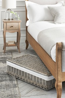 Wicker Underbed Storage Basket