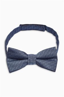Chambray Bow Tie (3-16yrs)