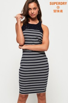 Superdry Jessie Macrame Midi Dress