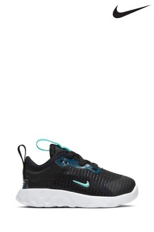 Nike Black Lucent Infant Trainers