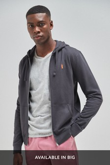 Lightweight Zip Through Hoody