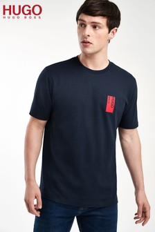 HUGO Blue Deoul Berlin Print T-Shirt