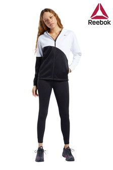 Черно-белый спортивный костюм Reebok