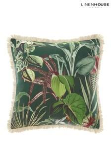 Wonderplant Botanical Leaf Pillowcase Sham by Linen House