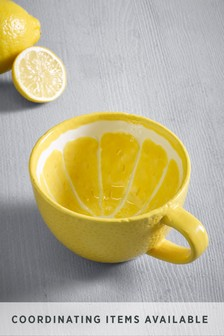 Lemon Shaped Mug