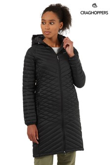 Craghoppers Black Expolite Long Jacket
