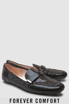 Туфли на плоской подошве с длинным язычком Forever Comfort