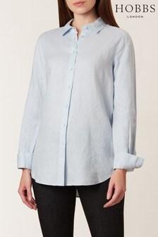 Hobbs Light Blue Kristina Shirt