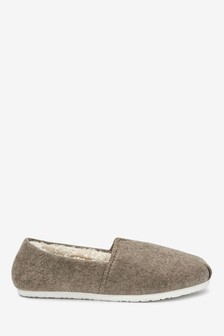 Centre Seam Mule Slippers