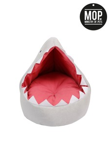 Ministry Of Pets Sheila The Shark Igloo Dog Bed