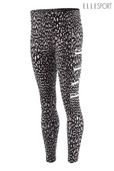 Elle Sport Cheetah Print Leggings