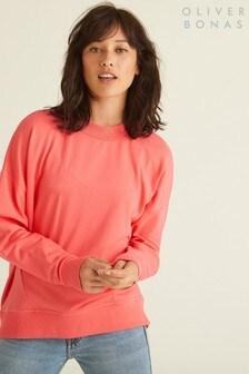 Oliver Bonas Calypso Coral Jersey Sweatshirt
