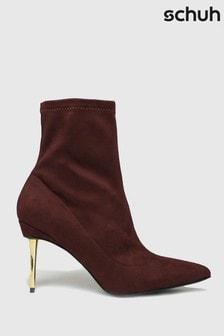 Schuh Benny Metal Heel Sock Boots