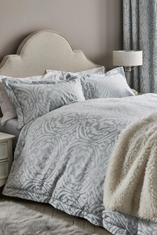 Classic Jacquard Duvet Cover and Pillowcase Set