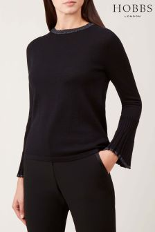 Hobbs Black Helen Sweater