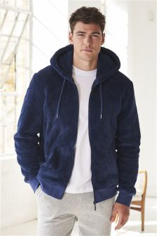Fleece Zip Through Hoody